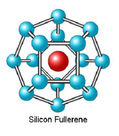 Silicon fullerene Structure